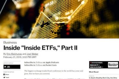 Inside Inside ETFs part II