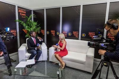 AfricaCom interviews