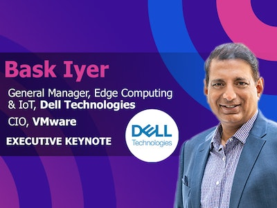 Bask Iyer General Manager of Edge Computing and IoT at Dell Technologies and CIO at VMware is an Executive Keynote Speaker at IoT World Conference