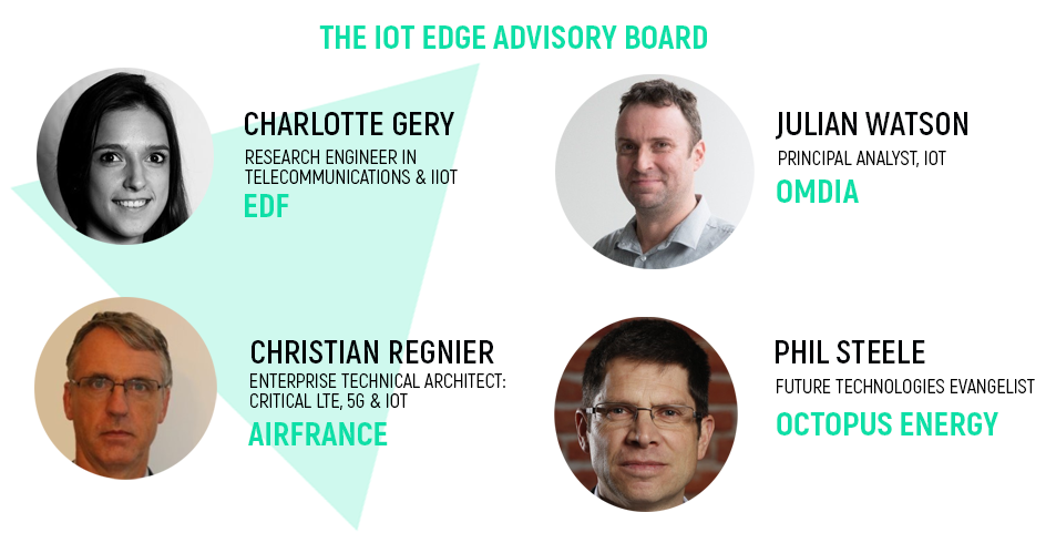 IoT Edge Advisory Board, airfrance, EDF, octopus energy, omdia