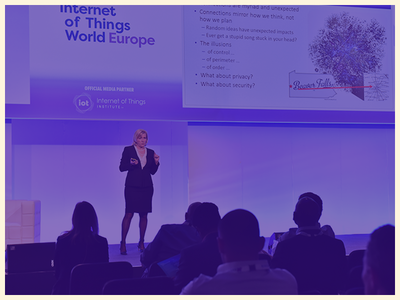 Internet of Things World Europe Crowd