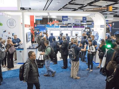 IoT World Expo Floor