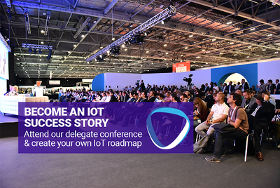 Become and IoT success story by attending the IoT World Asia conference
