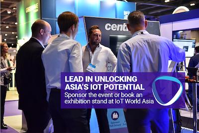 Sponsor or exhibit to lead in unlocking Asia's IoT potential
