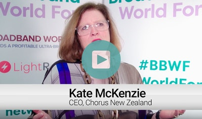 Kate McKenzie, CEO, Chorus