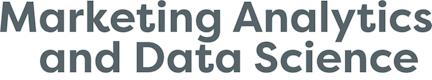 Marketing Analytics & Data Science