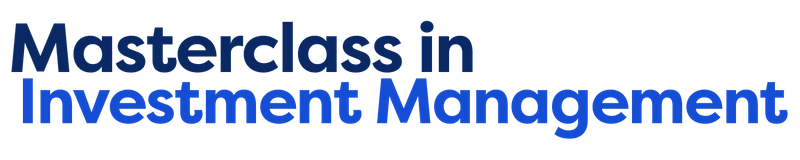 A Masterclass in Investment Management
