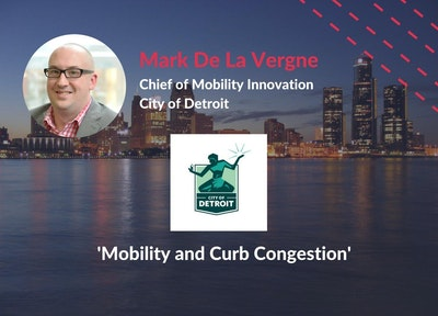 Mark De La Vergne of CIty of Detroit