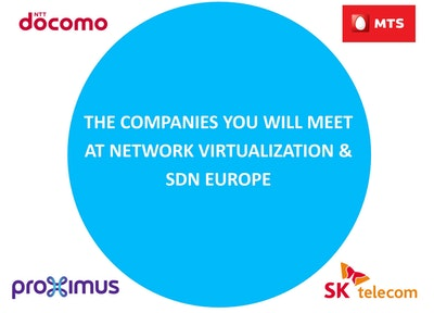 Network Virtualization & SDN Europe - Operator Attendees