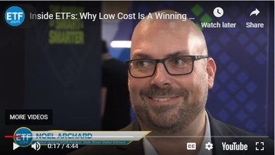 Noel Archard sees investor appetite for low-cost ETFs, and calls for smart-beta and ESG ETFs to drive growth ahead.