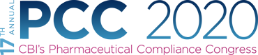 PCC 2020 – 17th Annual Pharmaceutical Compliance Congress