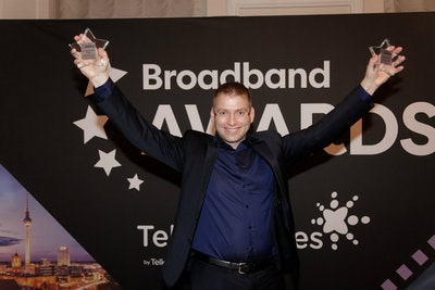 PEOPLE'S CHOICE AWARD. WINNER: Erling Gudmundsson, Reykjavik Fibre Network