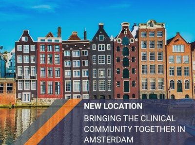 New Location: Bringing the clinical community together in Amsterdam