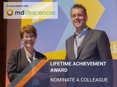 Lifetime Achievement Award - Nominate a colleague