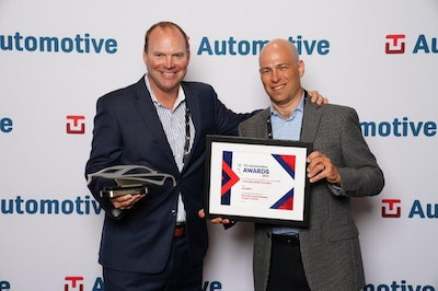TU-Automotive Detroit Awards 2019 - Acceptance