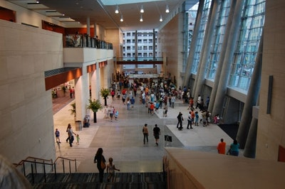Raleigh Convention Center Interior