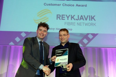 Customer Choice Award. WINNER: Reykjavik Fibre Network