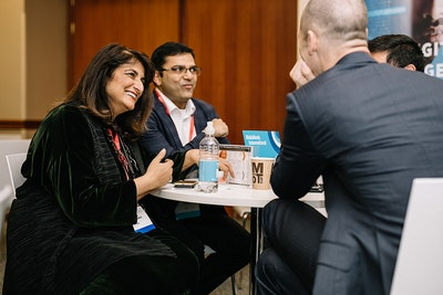 Delegates Networking at RiskMinds International