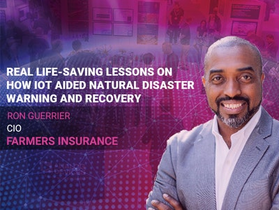 Ron Guerrier Farmers Insurance IoT World Speaker