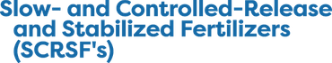 5th International Conference on Slow- and Controlled-Release and Stabilized Fertilizers (SCRSF's)