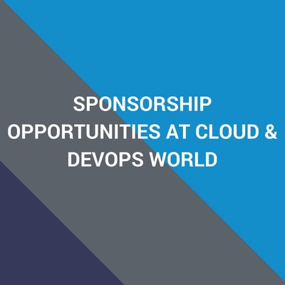 sponsorship and exhibition opportunities at cloud and devops world