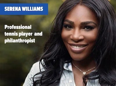 Serena Williams - Speaker at Inside ETFs