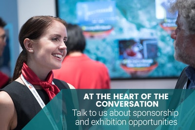 At the heart of the conversation. Talk to us about sponsorship and exhibition opportunities.