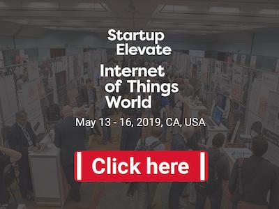 Startup Elevate at IoT World in Santa Clara, California