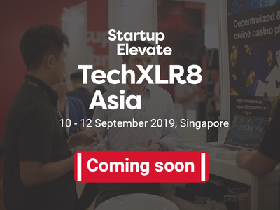 Startup Elevate at TechXLR8 booking page is coming soon