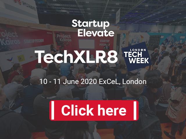 Startup Elevate London at TechXLR8 and London Tech Week