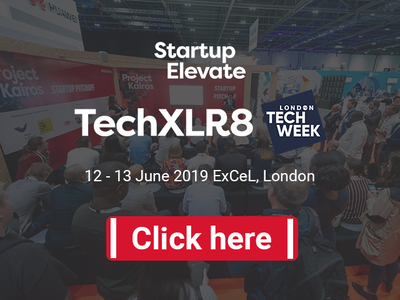 Startup Elevate London at TechXLR8 and London Tech Week