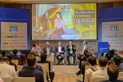 Speakers at Video Exchange Asia