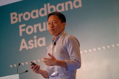Speaker at Broadband Forum Asia