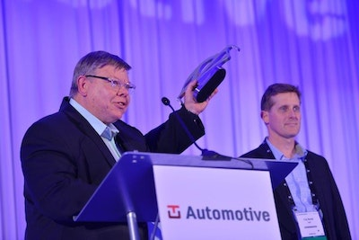 TU-Automotive Detroit Awards 2019 - Recieval