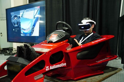 Future Auto Tech Being Demoed at the Expo