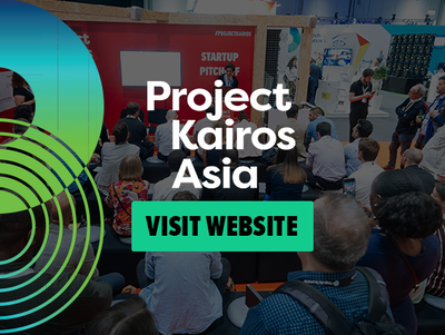 Project Kairos Asia, the startup event that allows the industry and investment to connect with startups.