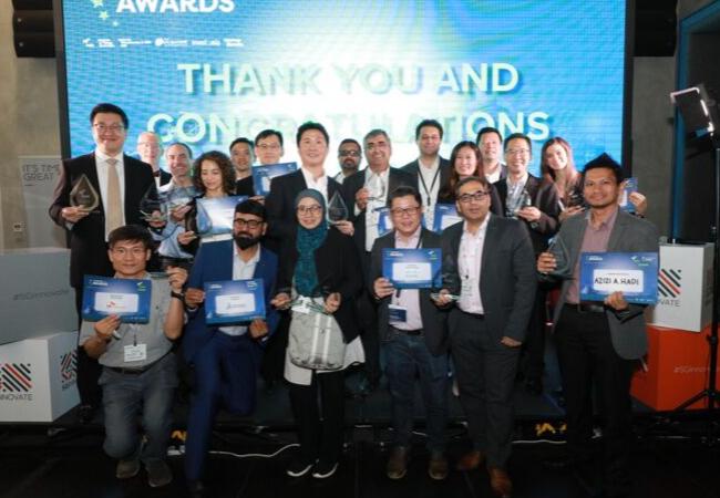 Award Winners at the TechXLR8 Asia Awards