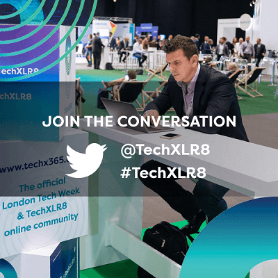 Join The Conversation On Twitter With TechXLR8 the flagship event of London Tech Week
