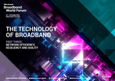 Technology of broadband part three: Network efficiency, resiliency and agility