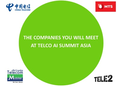 Telco Data Analytics & AI Asia