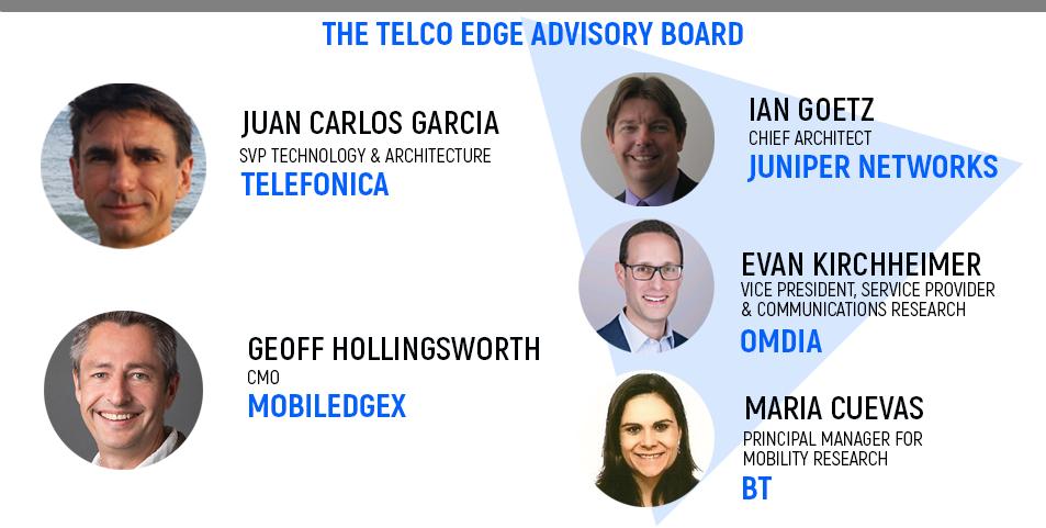 The Telco Edge Advisory Board, Telefonica, MobiledgeX, BT, Juniper Networks, Omdia