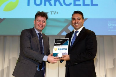 Best Consumer Facing OTT Service (TV/Media/Bundles). WINNER: Turkcell