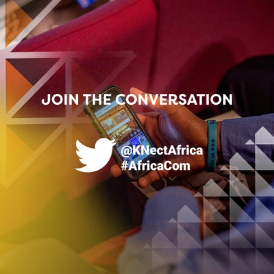 Join the conversation with AfricaCom on Twitter at @KNectAfrica and #AfricaCom
