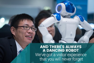 And there's always a dancing robot. We've got a visitor experience that you will never forget.