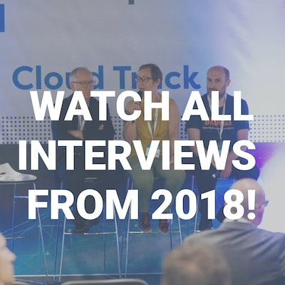 Youtube link image with 'Watch all interviews from 2018'