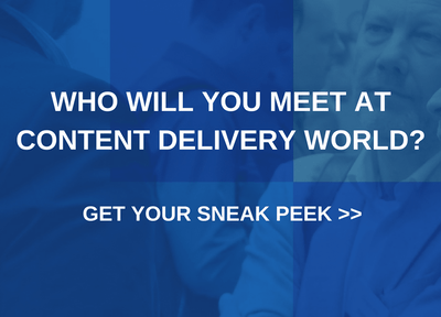 See a sample of who attended OTT and Content Delivery World previously