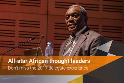 All-star African thought leaders - don't miss the 2017 delegate experience