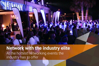 Network with the industry elite - at the hottest events the industry has to offer
