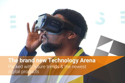 The brand new Technology Arena - packed with future trends & the newest digital products