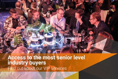 Access to the most senior level industry buyers - find out about our VIP services